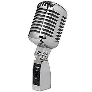 Microfone Vintage 50'S Stagg SDMP100 Cromado