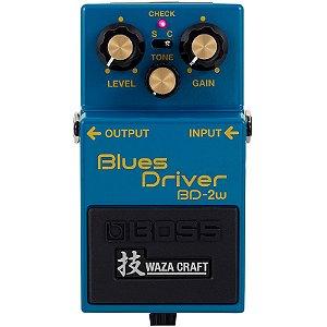 PEDAL BOSS BLUES DRIVER BD-2W WAZA CRAFT JAPAN ANALÓGICO