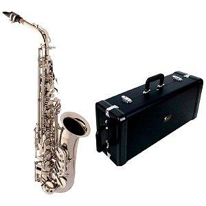 Saxofone Alto Eagle SA500N Mib (Eb) Com Case Extra Luxo