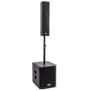 Caixa Ativa Pa Portátil Bluetooth Sistema De Som Torre 600w Boxx Co-02