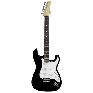 Guitarra Fender Stratocaster Squier Mainstream 506 Preto