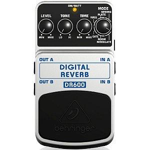 Pedal de Efeito Reverb Guitarra Behringer DR600