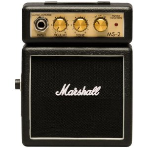 Amplificador De Guitarra Marshall MS-2-E Micro Stack Black