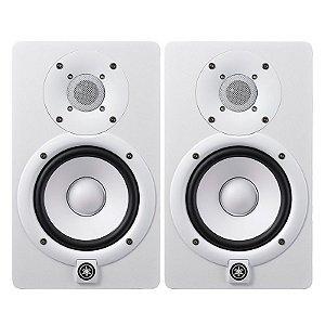 """Monitor de Referência Ativo Yamaha HS5I Branco 45W 5"""" Par"""