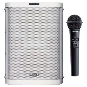 Amplificador Portátil Roland BA-55 Branco Bivolt