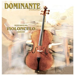 Encordoamento Cordas Violoncelo cello 4/4 Dominante Orchestral