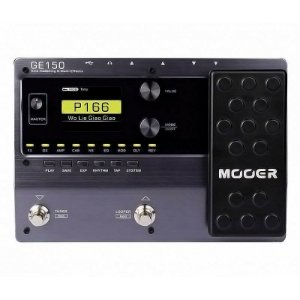 Pedaleira Mooer Ge150 Multiefeitos Para Guitarra