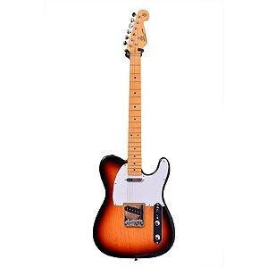 Guitarra SX Telecaster Vintage 1950 3-Tone Sunburst