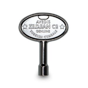 Chave De Afinação Para Bateria Zildjian Zkey Prata