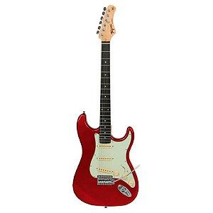 Guitarra Tagima Stratocaster Tg-500 Candy Apple