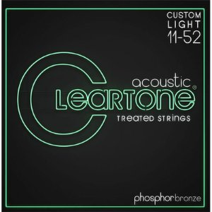Encordoamento de aço para Violão Cleartone 011-052 Custom Light Bronze