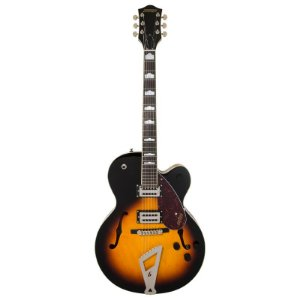 Guitarra Gretsch G2420 Semi Acústica Single Cutaway - Aged Brooklyn Burst
