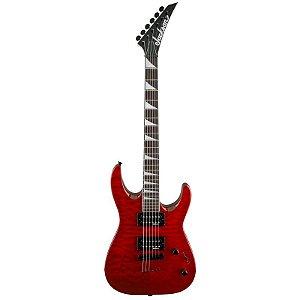 Guitarra Jackson Dinky Arch Top Js32TQ 590 Red Transparent