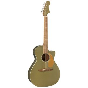 Violão Fender Newporter Player 076 Olive Satin