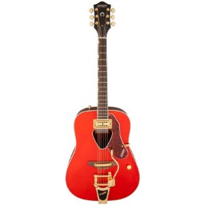 Violão Gretsch G5034TFT Acoustic Rancher Bigsby Savanna Sunset