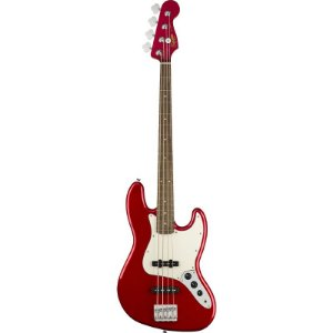 Contrabaixo Fender Squier Jazz Bass Lr Contemporary Dark Metallic Red