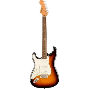 Guitarra Fender Canhoto Squier Classic Vibe 60s Stratocaster Sunburst