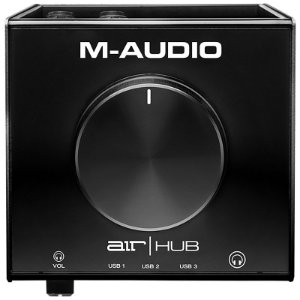 Interface Monitoramento M-Audio AIR HUB 3 Portas USB