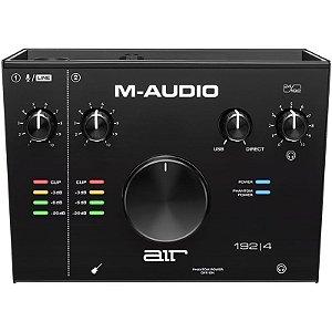 Interface de Áudio USB M-Audio 2 Canais AIR 192-4