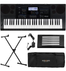 Kit Teclado Musical Casio Ctk 6200 61 Teclas Ctk6200 Timbres