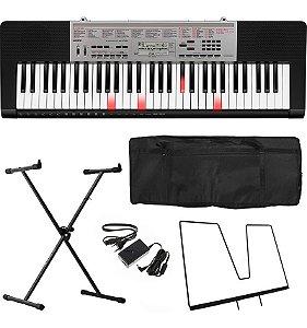 Kit Teclado Musical Casio Lk190 130 61 Teclas Iluminadas