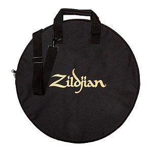 """Bag Para Pratos 20"""" Zildjian Basic Zcb20 Preto Com Alça"""