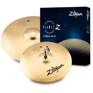 "Kit De Pratos Zildjian Planet Z Fundamentals Pack 14"" 18"" ZP1418"