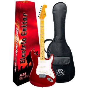 Guitarra Stratocaster SX SST57+ Vintage Series Plus Candy Apple Red