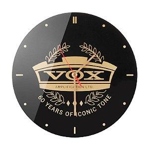 Relógio De Parede Analógico Vox Wall Clock 60th Anniversary Edição Limitada