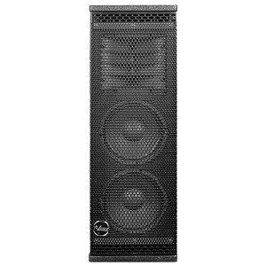 Caixa Leacs Vertical Line L6 Preta 500w Rms Ativa