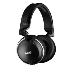 Fone Akg K182 Over-ear Professional Bk