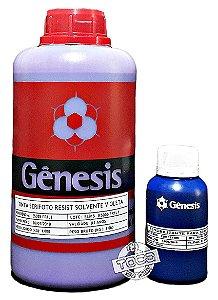 Emulsão Serifoto Violeta Base Solvente Gênesis + Sensibilizante