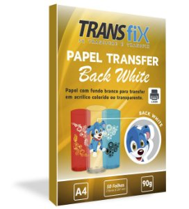 Papel Transfer Back White Transfix 90g