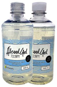 Álcool Gel 70 Com Tampa Fliptop