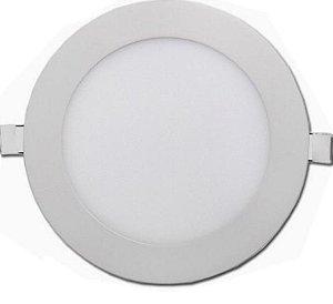 Luminaria De embutir 18w redonda