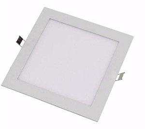Luminária de embutir 25w quadrada