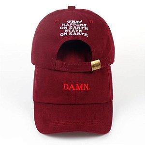 Boné aba curva DAMN - Kendrick Lamar