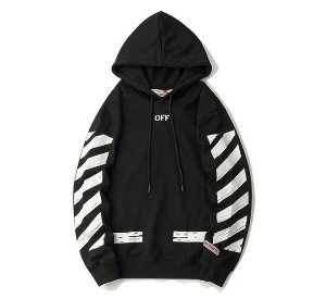 Moletom Off White Graffiti - Preto e Branco