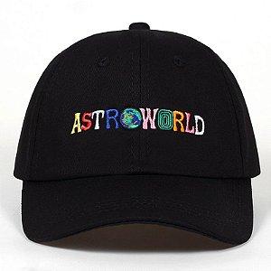 Boné Astroworld aba curva