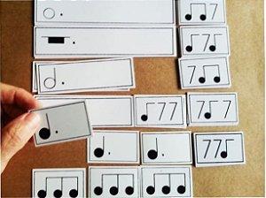A24 - Figuras Musicais Pequenas Ímpares