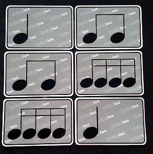A21 - Figuras Musicais Grandes Par