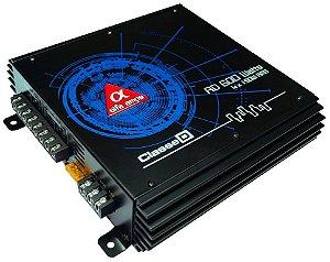 Modulo Amplificador Digital Alfa Amps 4 Canais 600W RMS para Woofer Subwoofer Driver Super Tweeter Kit 2 vias