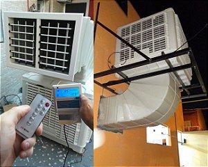 Climatizador Evaporativo Industrial Comercial - Buffet Igreja Academia Loja Fábrica Para Área até 350m²