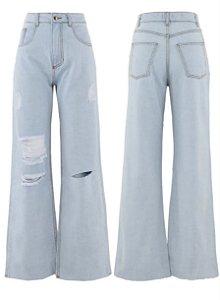 Calça Jeans Ice Rasgada