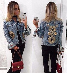Jaqueta jeans maraviDeusa