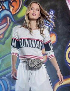Blusa de tricot Runway