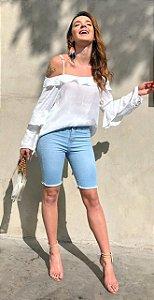 Blusa manga longa babadinhos