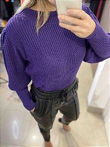 Blusa de Tricot Fang Bufante