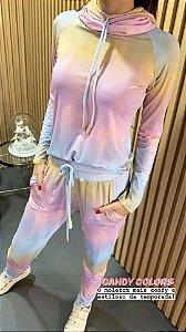 Conjunto Tie Dye Candy Colors