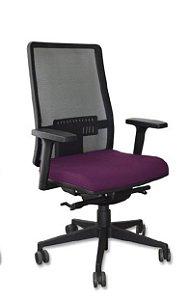 012- Cadeira Office Diretor de Tela Mesh